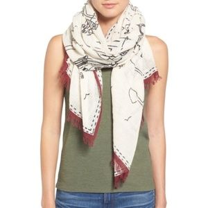 Madewell Daycation List Scarf